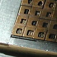 Matrijs (druktechniek) - Wikipedia