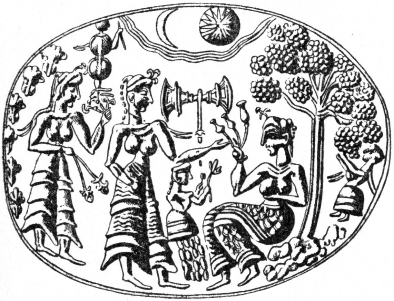 File:Mykene Goldringmotiv 01.jpg - Wikimedia Commons