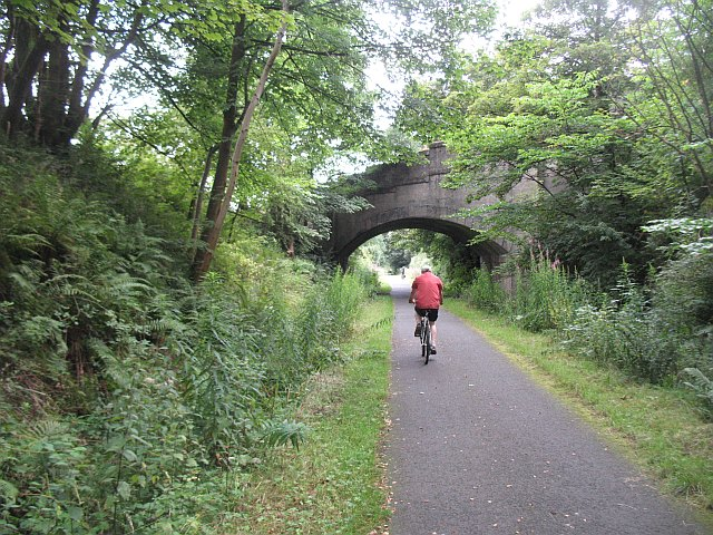 National Cycle Route 7, Castle Semple - geograph.org.uk - 1442736