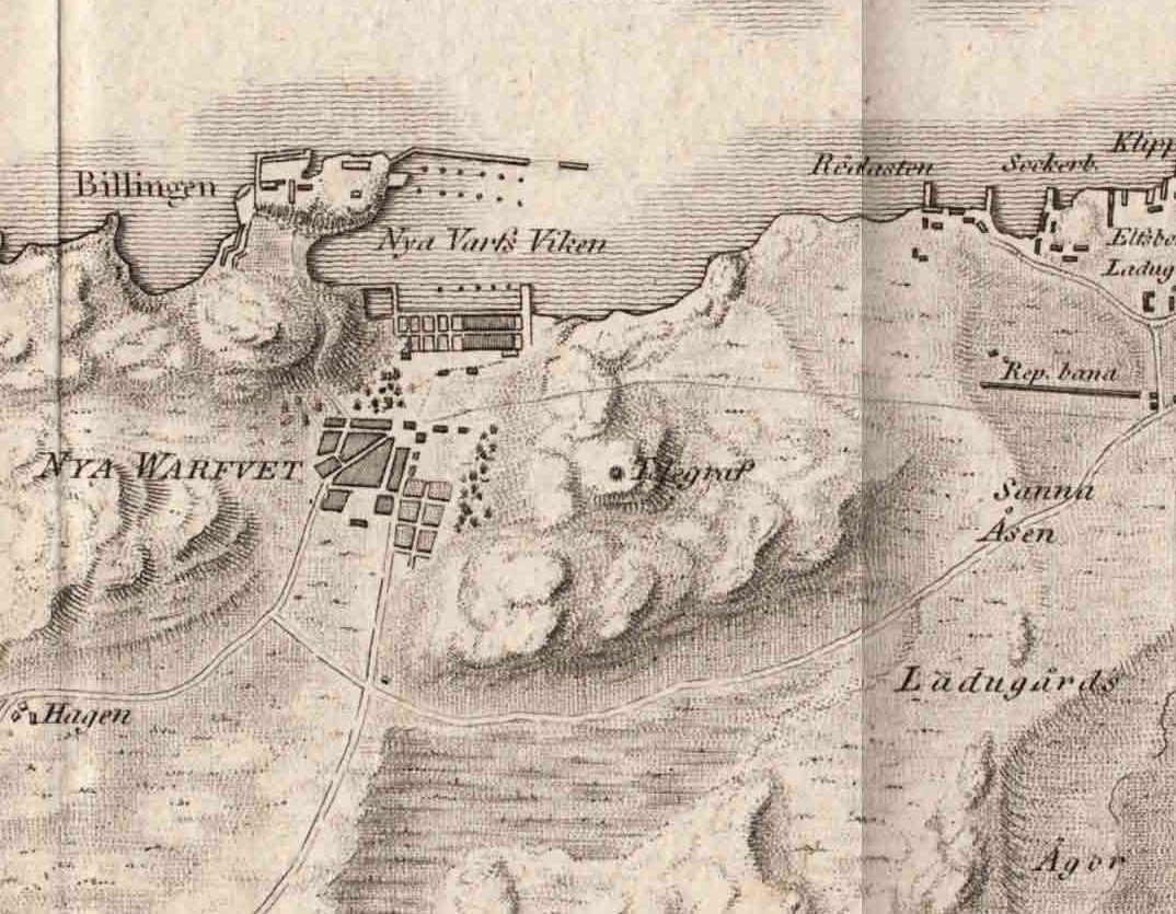File Nyavarvet Map Goteborg Lindgren 1815 Jpg Wikimedia Commons