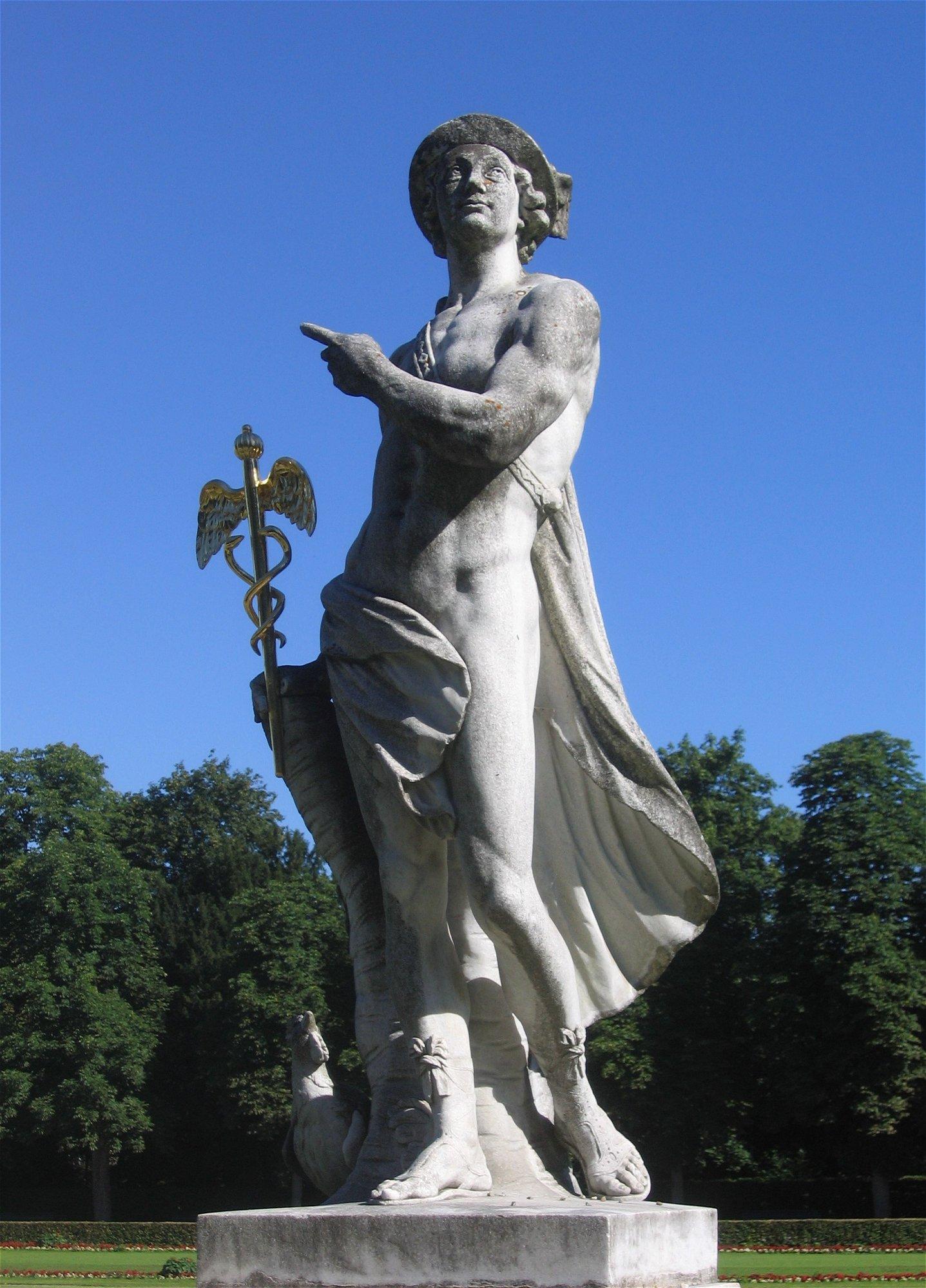 File:Nymphenburg-Statue-9.jpg - Wikimedia Commons  Hermes Statue