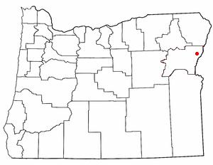 Halfway Oregon Map.Halfway Oregon Wikipedio