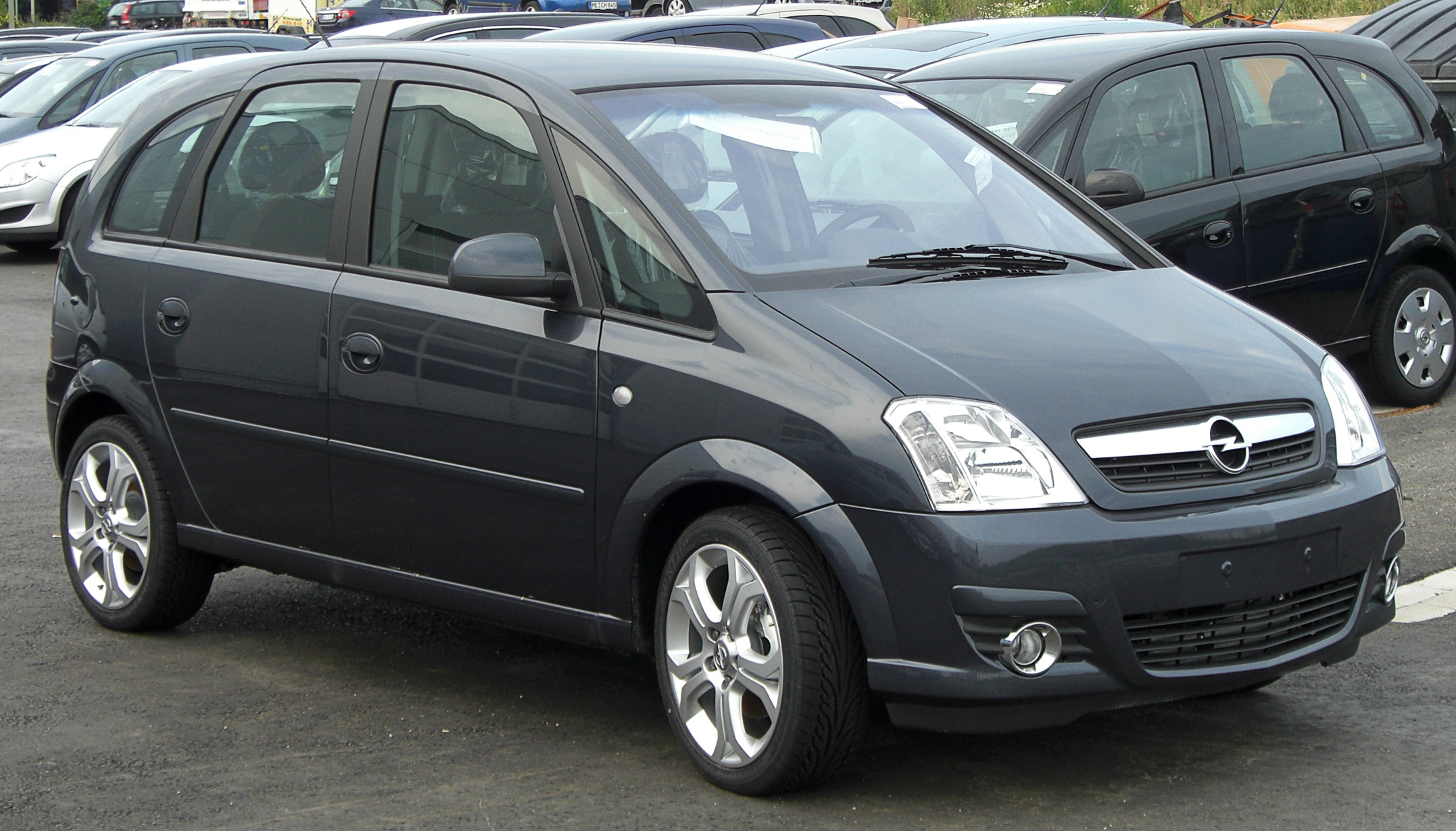 opel meriva 1 7 cdti edition auto informatie. Black Bedroom Furniture Sets. Home Design Ideas
