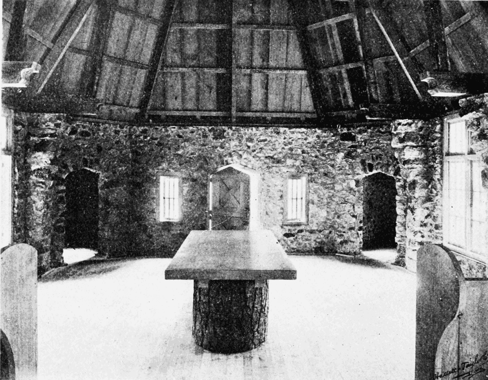 PSM V65 D384 Interior of the le conte memorial lodge.png