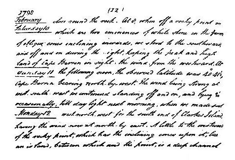Page 173 letter (The Life of Matthew Flinders).jpg