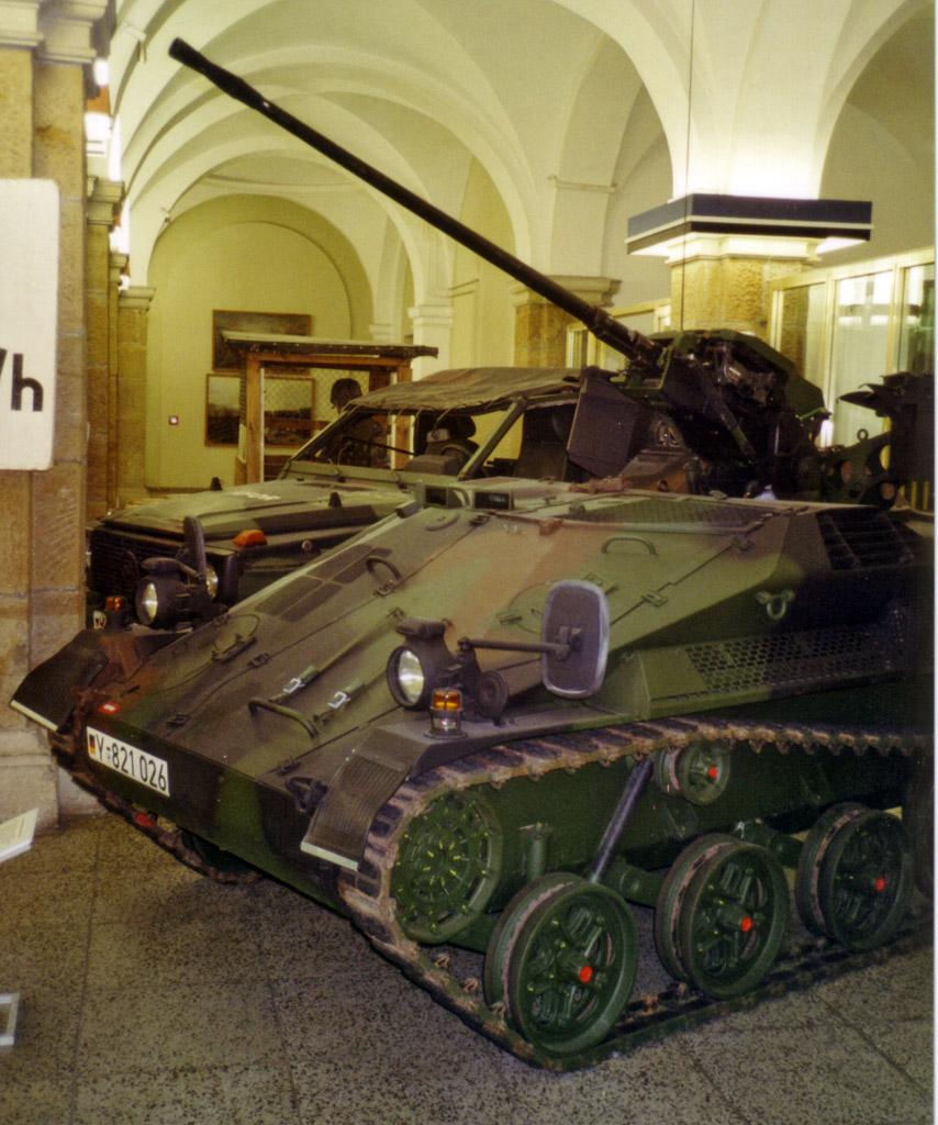 Wiesel, ausgestellt Militärhistorischen Museum...