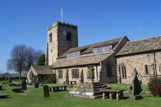 Parish Church, Ribchester - geograph.org.uk - 1455071