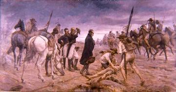 عبور ارتش بولیوار از طریق پارامو پیسبا.