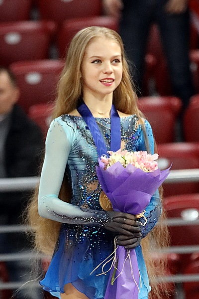 Alexandra Trusova was the record holder for junior ladies' both TES records and short program PCS record before the 2018–19 season