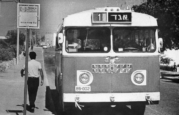 אוטובוס פנימי אגד - קו מס' 1