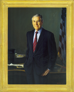 Official portrait as Secretary of the Treasury Portrait of Lloyd Bentsen.jpg