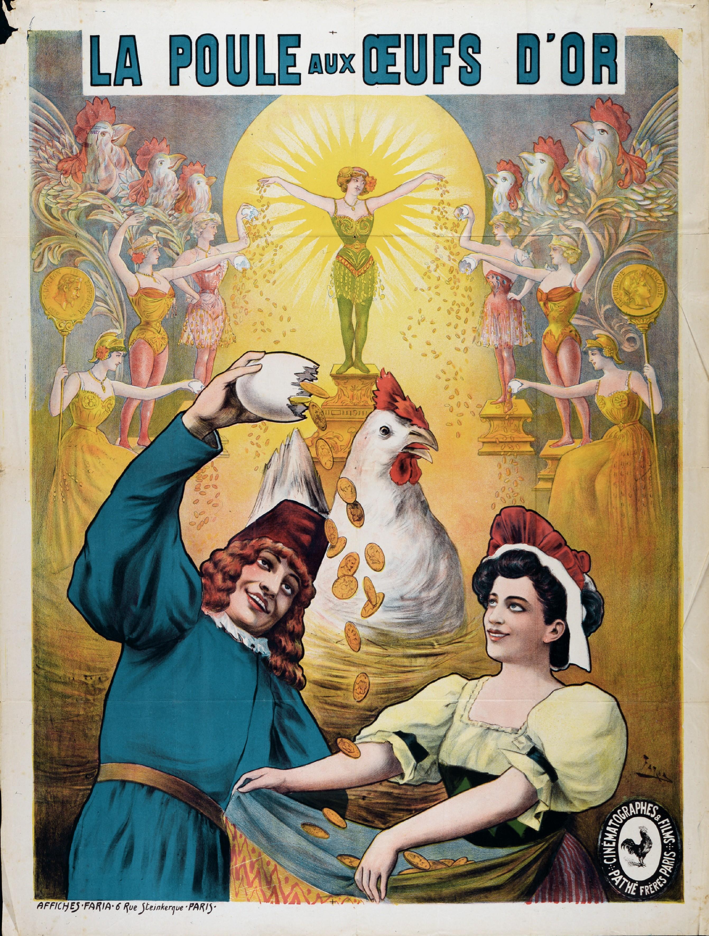 Poule aux oeufs d'or - Cândido de Faria - 1905