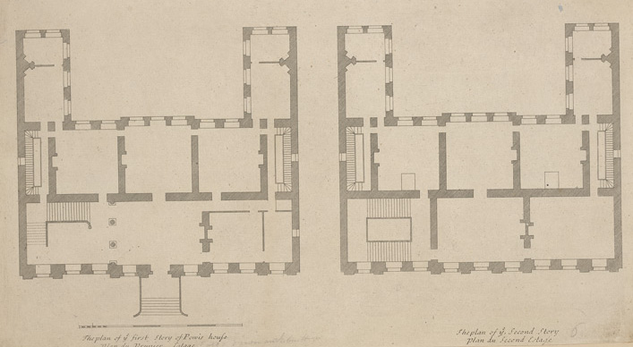 File powis house anonymous 18th century for Century homes floor plans