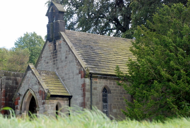 Private chapel to Longshaw Lodge - geograph.org.uk - 549959