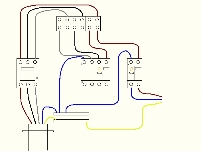 Power Plant Electrical System additionally Sub Box Wiring Diagram likewise Wiring Diagram For 2007 Honda Crv together with Three Phase Auto Changer Circuit moreover Earth Leakage Indicator Circuit. on circuit breaker wiring diagram