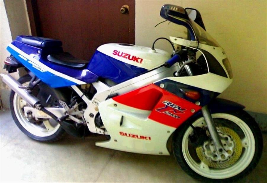 Suzuki Rg Sport Racing