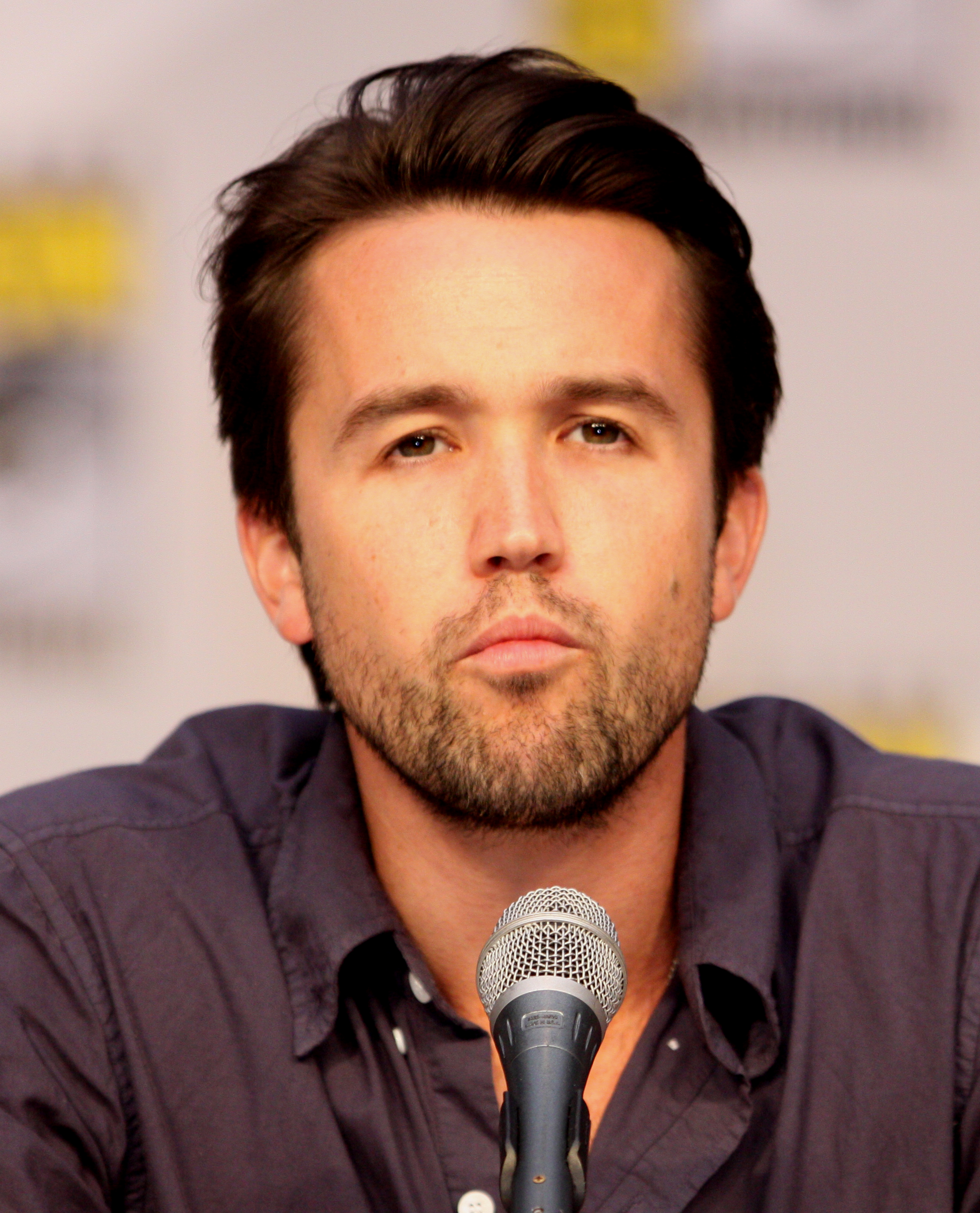 The 41-year old son of father Robert McElhenney and mother Helena McElhenney Rob McElhenney in 2018 photo. Rob McElhenney earned a 4 million dollar salary - leaving the net worth at 40 million in 2018