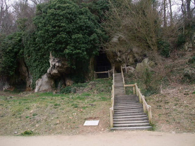 Robin Hood Cave, Creswell Crags - geograph.org.uk - 1175963