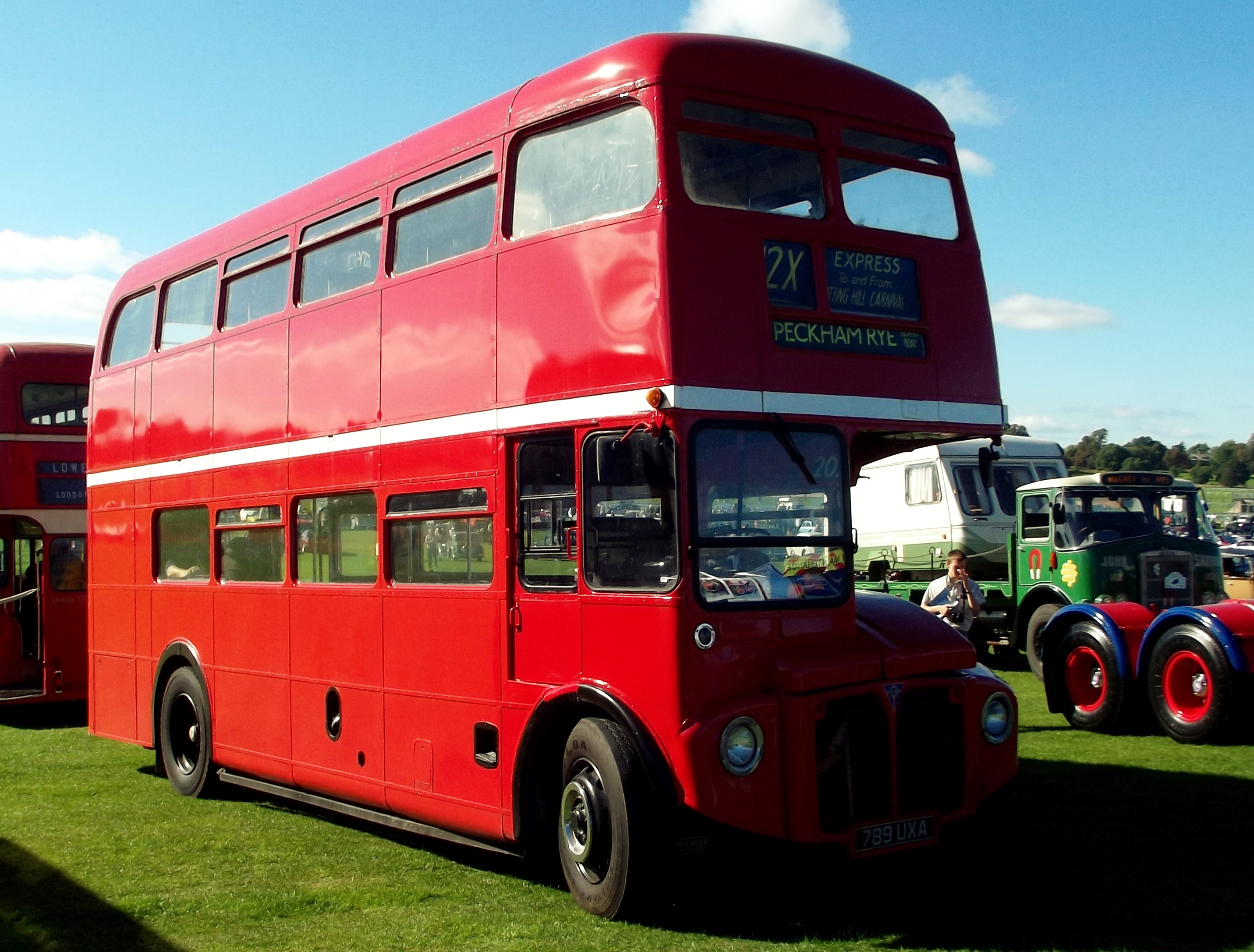 FileRoutemaster RM UXA York Racecourse Classic Car - Classic car show york