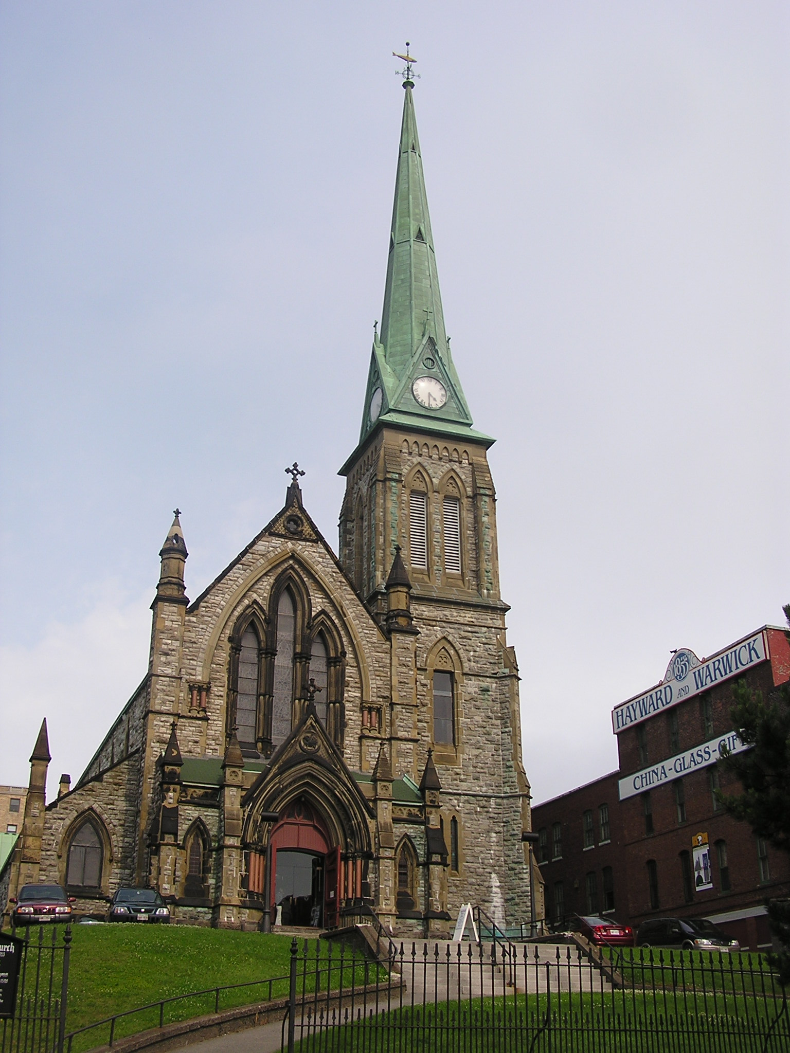 File:Saint John, NB, Trinity Church, Germain St..jpg ...