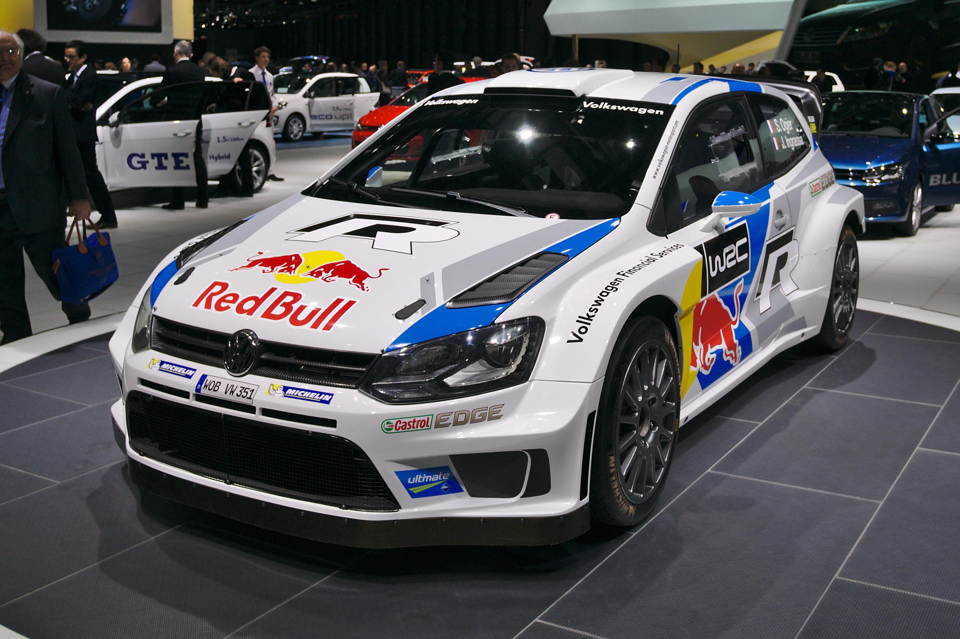 File salon de l 39 auto de gen ve 2014 20140305 volkswagen polo r wrc wikimedia commons - Salon de l automobile 2014 ...
