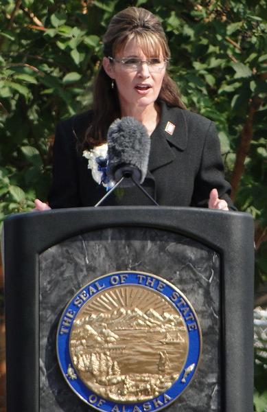 Sarah Palin Quelle: Saying Goodbye Urheber: FairbanksMike