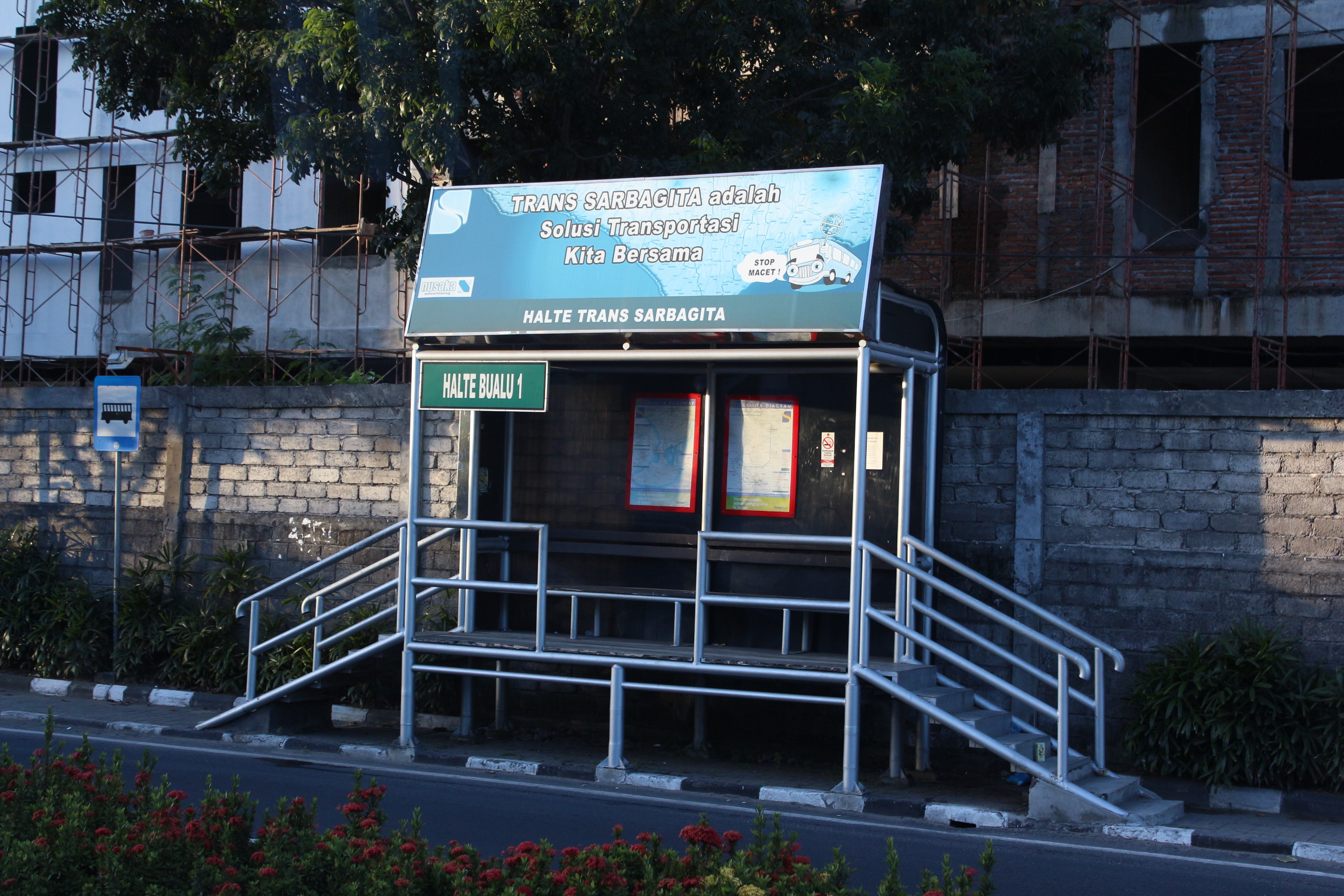 Damri bus station