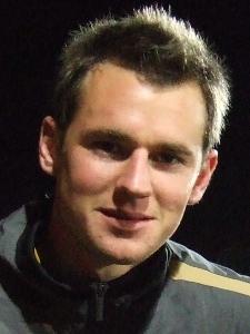 Shane Smeltz at a Wellington Phoenix warm up game.