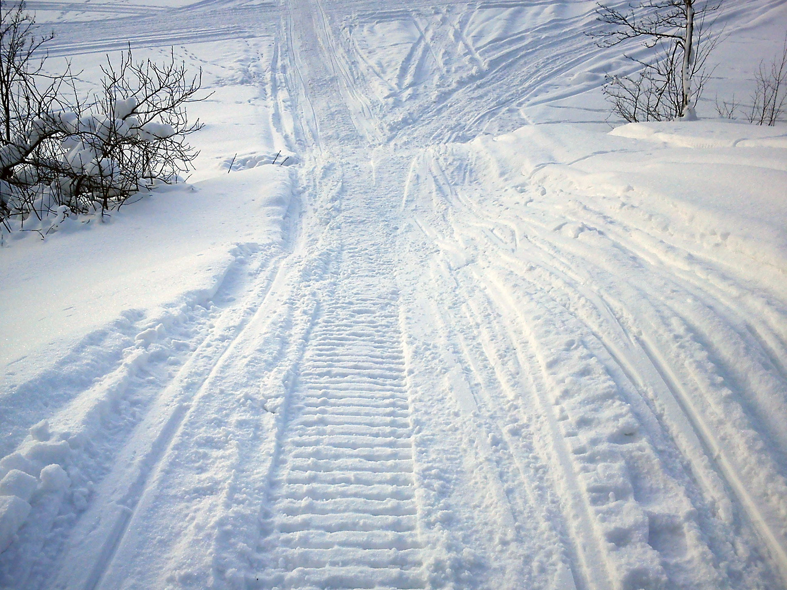 File:Snowmobile tracks jpg - Wikimedia Commons