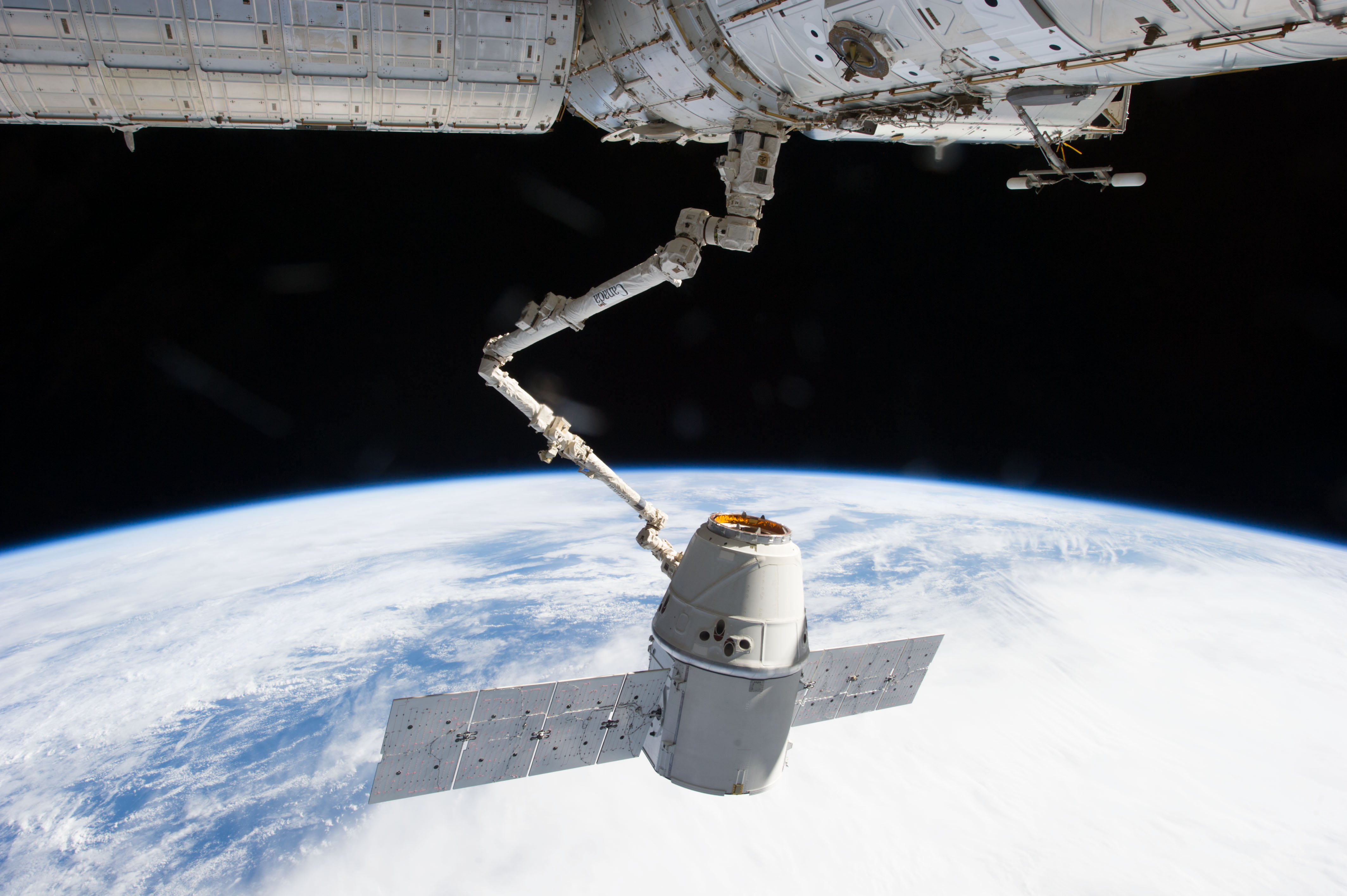 earth dragon from spacex - photo #36