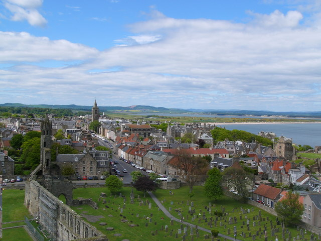 St Andrews from Regulus tower - geograph.org.uk - 254003