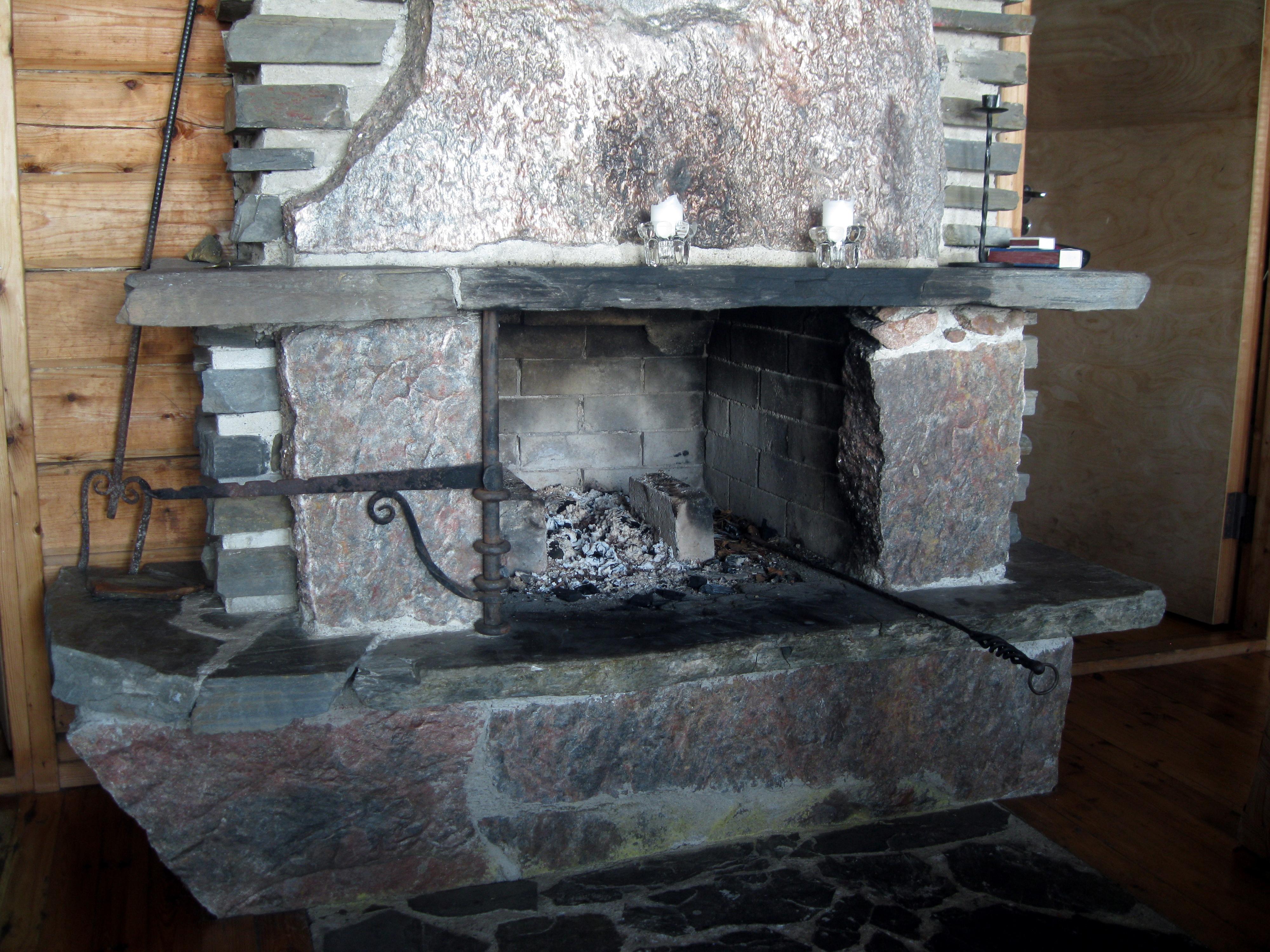 File Stone Fireplace Without Fire Jpg Wikimedia Commons