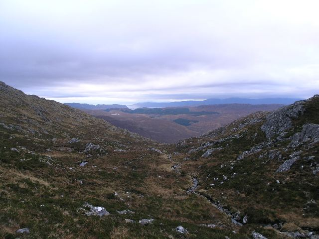 File:Stream on Ben Killilan by Creag Mhor - geograph.org.uk - 287147.jpg