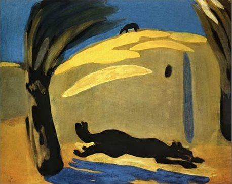 «Зной. Бегущая собака», 1909