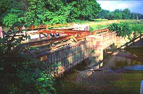 Tinkers Creek Aqueduct bridge in United States of America