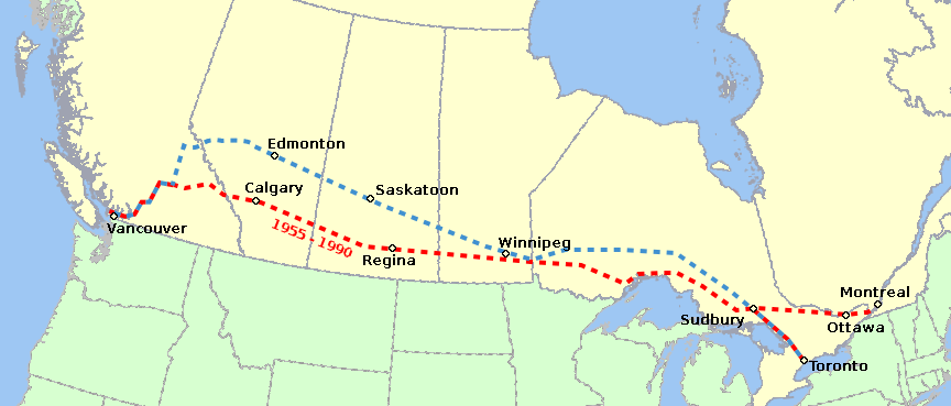a history of the canadian pacific railway in canadian transportation Rail transport in canada  the canadian pacific railway and the development of western canada, 1896–1914  select documents in canadian economic history, 1783 .
