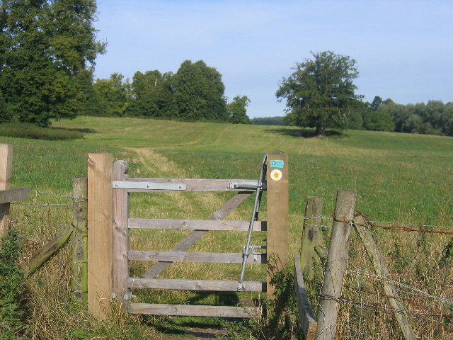 The South Bucks Way in Shardeloes Park - geograph.org.uk - 50634