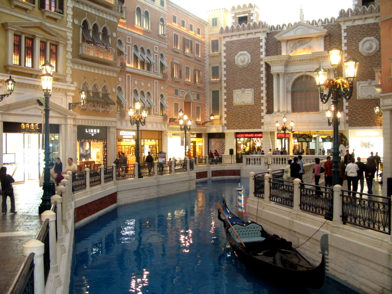 Macau Macao  city pictures gallery : The Venetian Macao SanLucaCanal Wikipedia, the free ...
