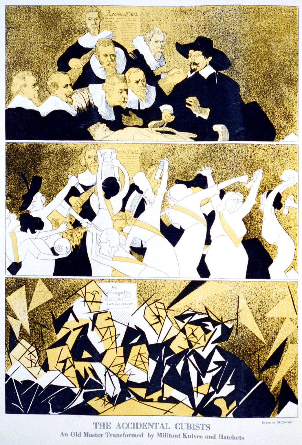 File:The accidental cubists, cartoon for Puck, 1914.jpg - Wikimedia ...