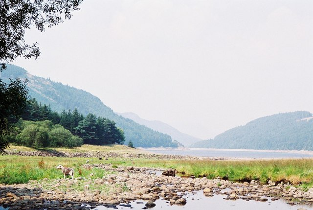 Thirlmere at low level - geograph.org.uk - 482581