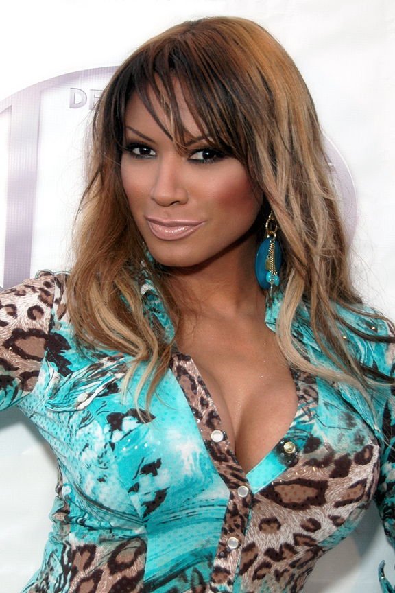 The 50-year old daughter of father (?) and mother(?) Traci Bingham in 2018 photo. Traci Bingham earned a  million dollar salary - leaving the net worth at 0.5 million in 2018