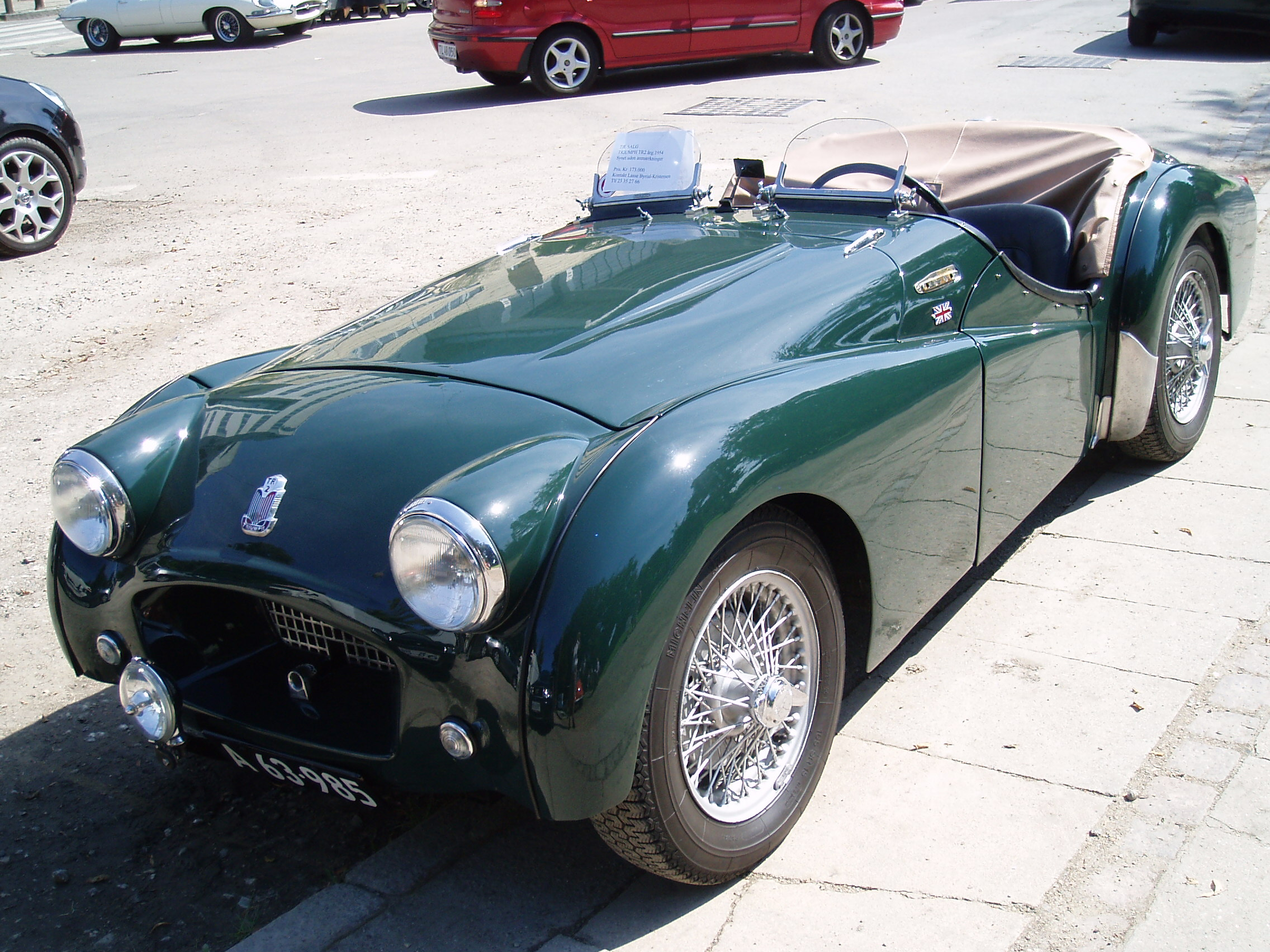 rear cars with File Triumph Tr2 1954 Fs on Detail 2017 Dodge Challenger Scat pack Used 16703074 together with Index moreover Off road together with Audi Q2 Edition 1 Limited Run Model Sale September further Mirage.