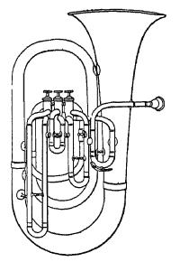 Függőleges forma: tuba