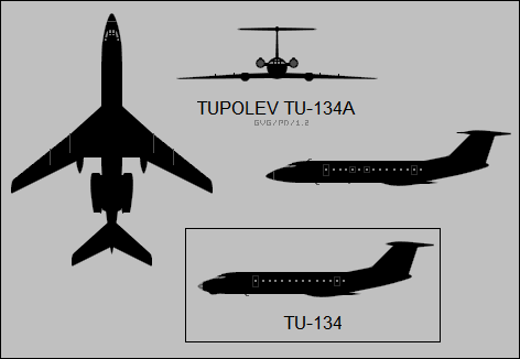 File:Tupolev Tu-134 three-view silhouette.png