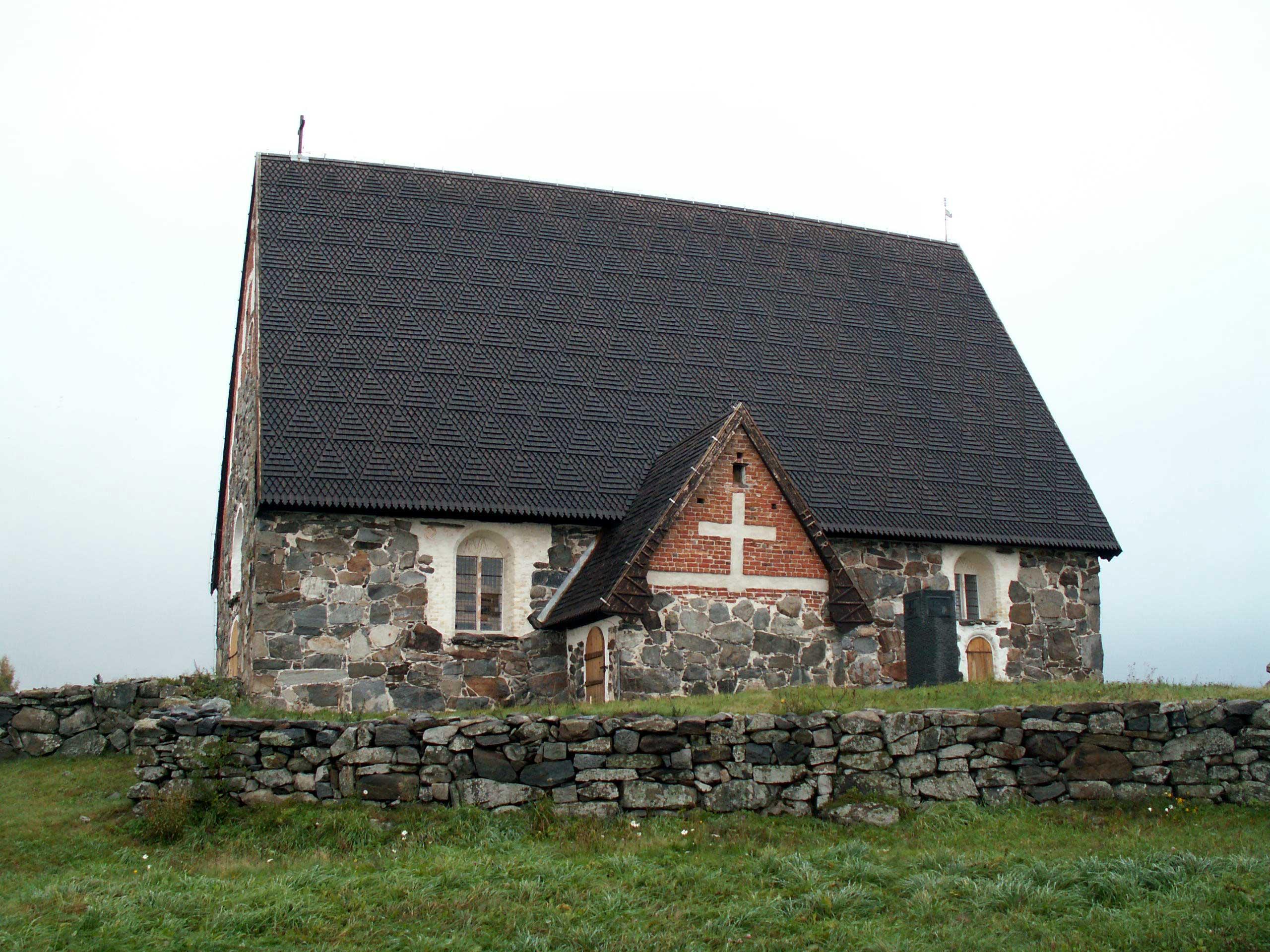 tyrvään pyhän olavin kirkko sastamala