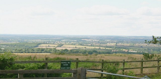 View from top of Muswell Hill, near Brill - geograph.org.uk - 1437184