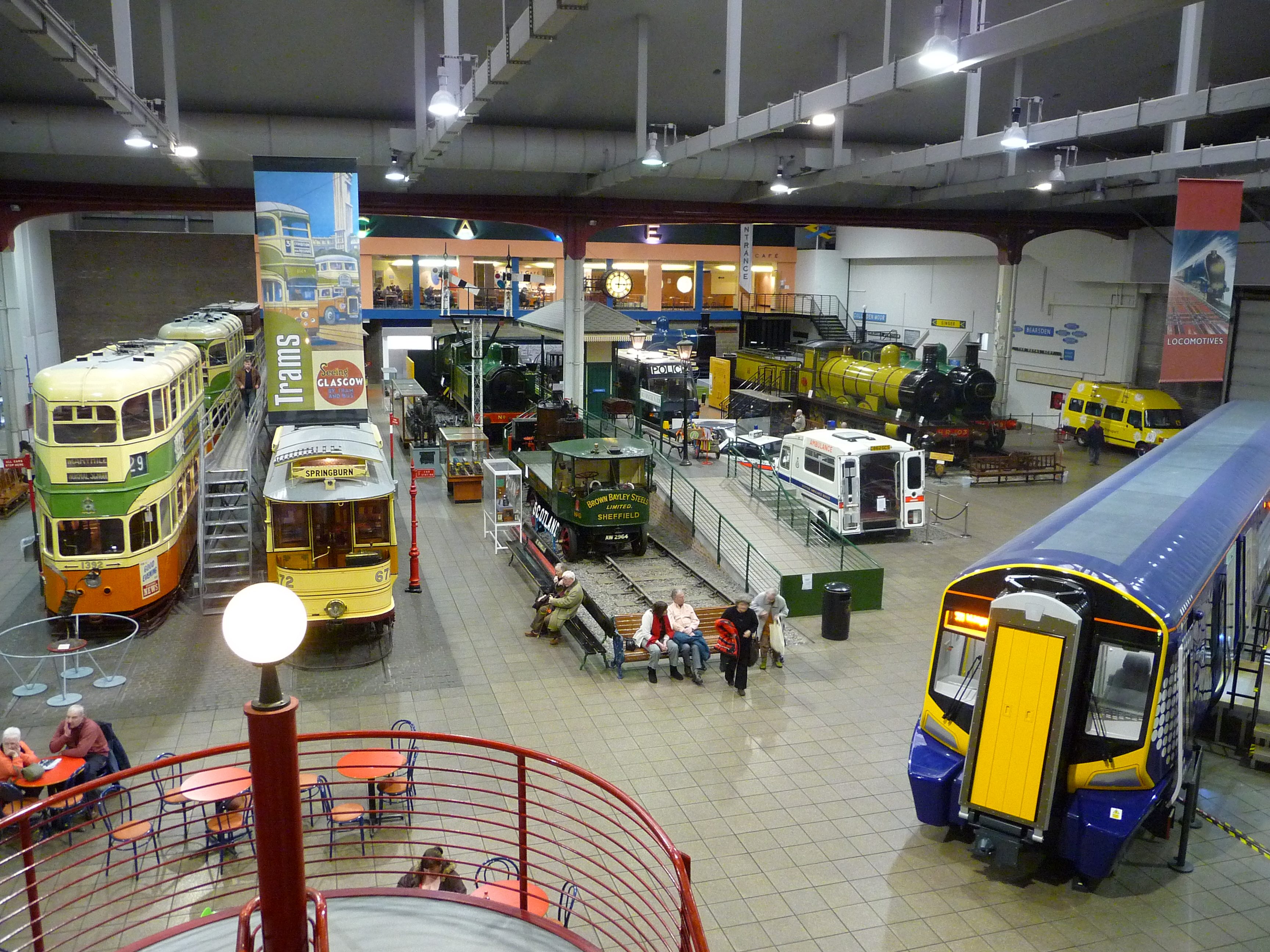 File:View of Museum Collections Glasgow Transport Museum.jpg ...