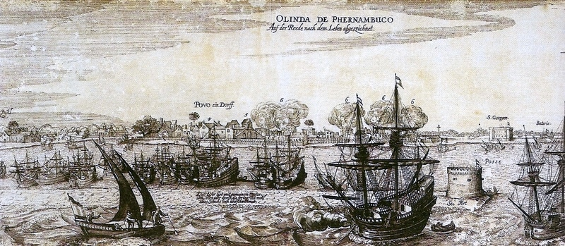 Vista do Recife, c. 1630