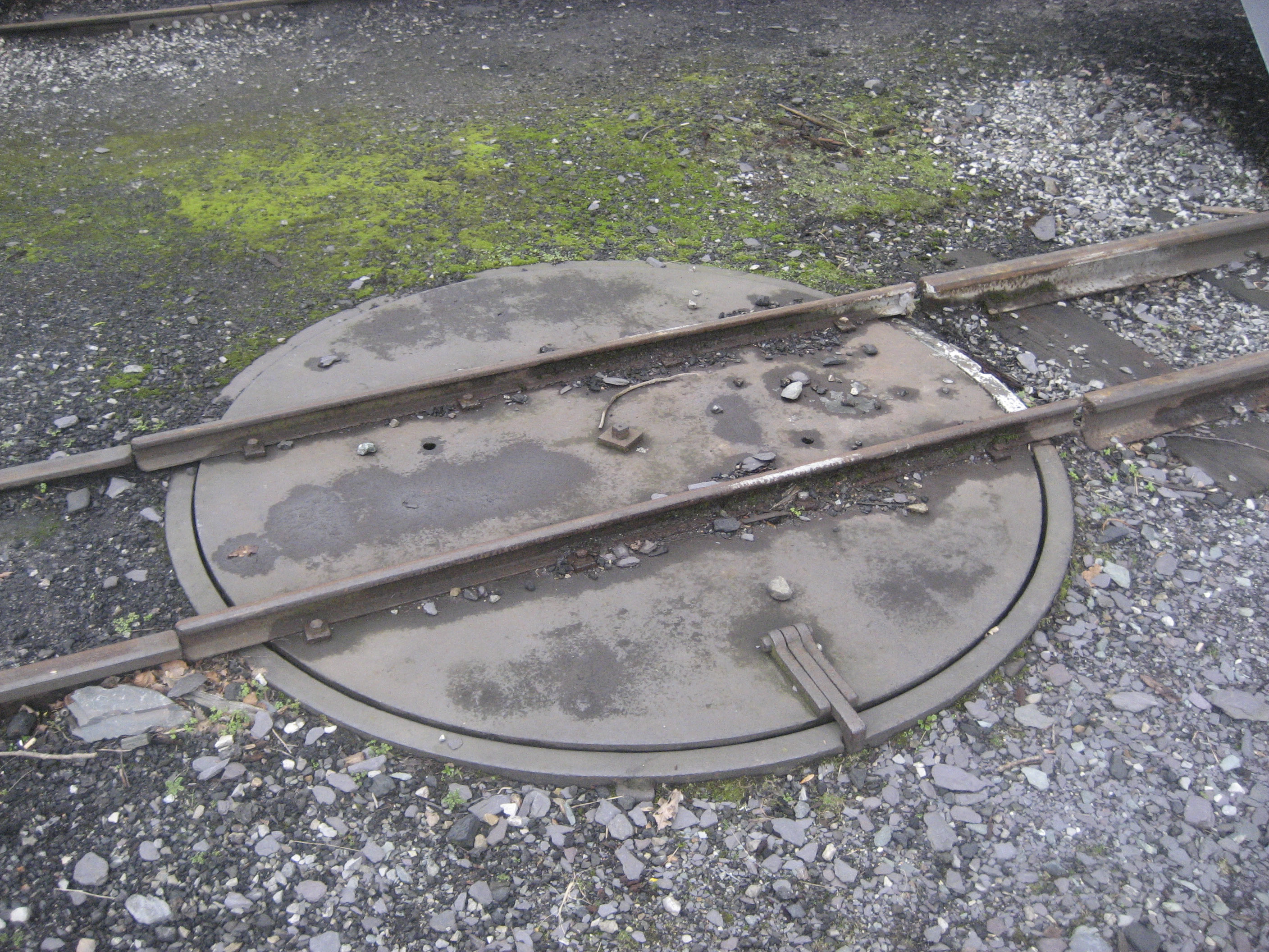 Railway turntable - Wikipedia