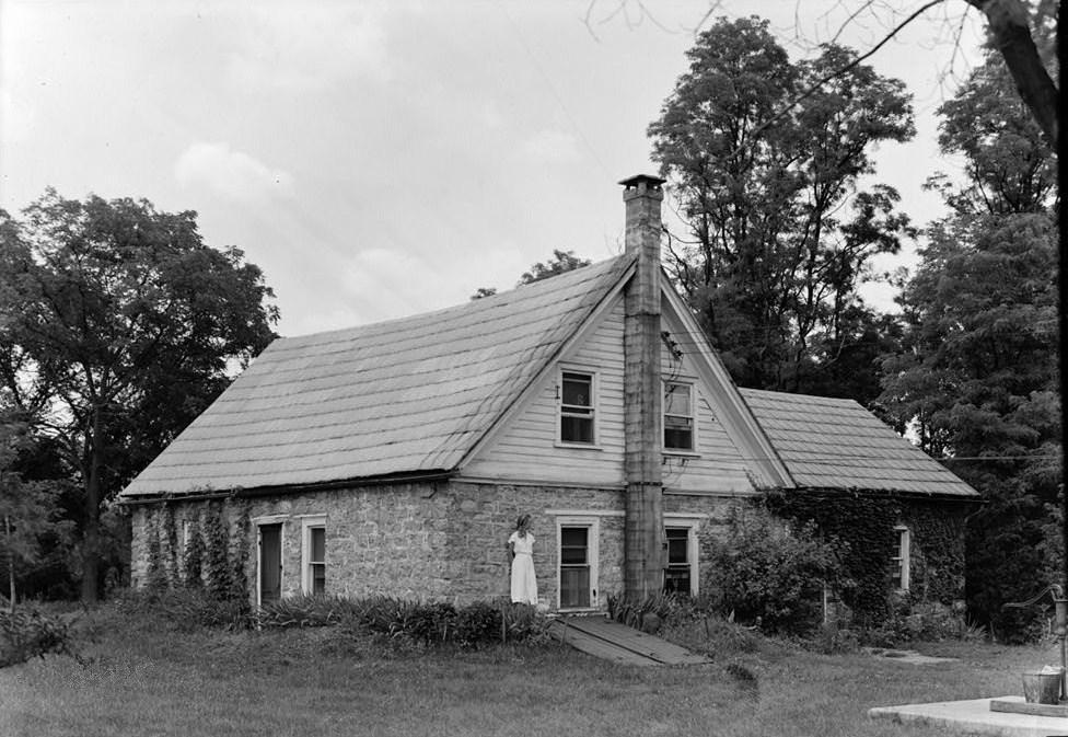 File Westbrook Bell House Sandyston Nj Dwgnra Circa 1937